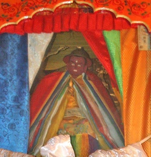 พระดอร์เจ ชุกเด็นในเซร่า ทิเบต