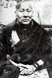 พระกนซา รินโปเช โลซัง ทนดรุบ รับเย (ชาติที่แล้ว)