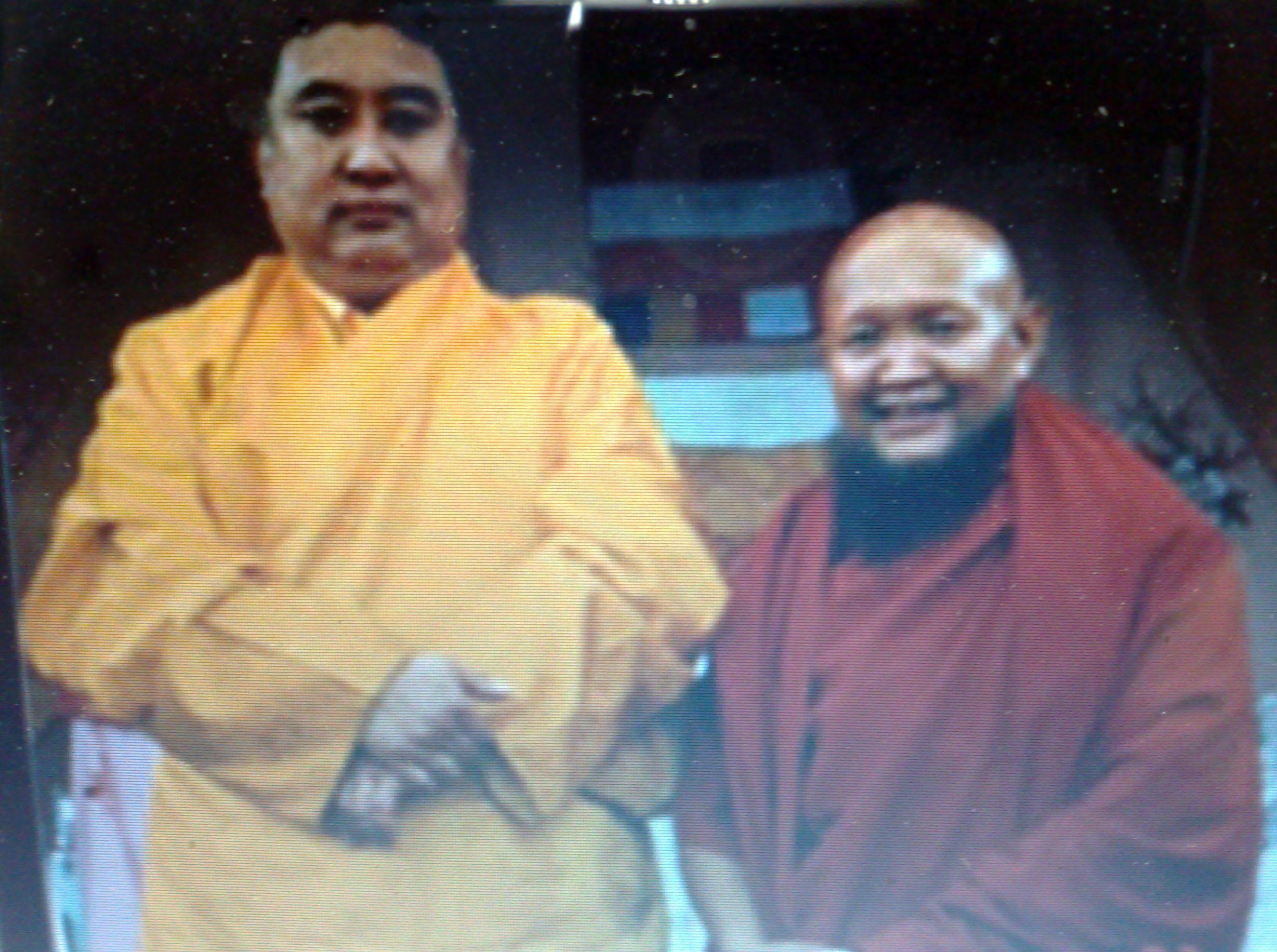 พระพันเชน ลามะกับพระกังเชน รินโปเช