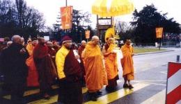 Gangchen Rinpoche and Trijang Chocktrul Rinpoche