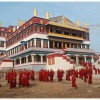 Serpom Monastery after puja