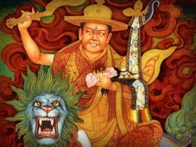 The appearance of Dorje Shugden