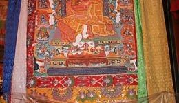 Dorje Shugden Thangka in Trode Khangsar
