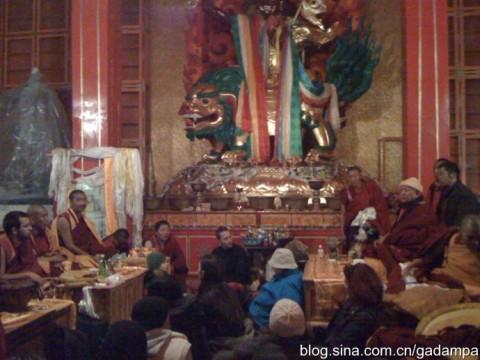 เทศกาลที่ยิ่งใหญ่ที่วัดพระดอร์เจ ชุกเด็น เมืองคาม ทิเบต